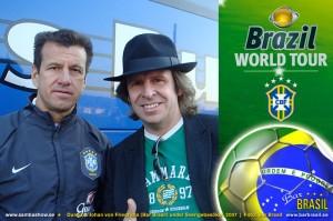 Bar Brasil Sambashow Dunga &  Johan von Friedrichs