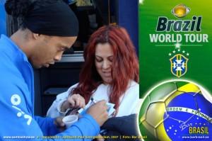 Bar Brasil Sambashow Ronaldinho