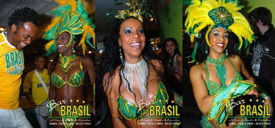 Brasilianska dansare